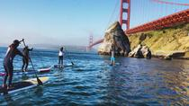 Stand Up Paddle Boarding Beneath the Golden Gate Bridge, San Francisco, Stand Up Paddleboarding