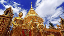 Wat Doi Suthep Temple and White Meo Hilltribe Village Half-Day Tour from Chiang Mai, Chiang Mai,...