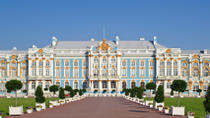 St Petersburg Shore Excursion: Imperial Residence Tour with Catherine Palace and Peterhof, St ...