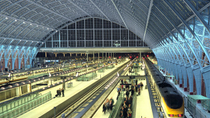 London St. Pancras Eurostar - Privater Transfer bei der Ankunft, London, Private Transfers