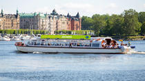Stockholm City Hop-On Hop-Off Boat Tour, Stockholm, Hop-on Hop-off Tours