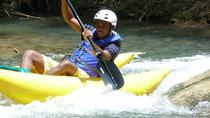 Jamaica Zipline and Kayak Adventure on the Great River, Montego Bay, Ziplines