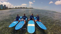 Oahu Surf Lessons: Class and Equipment at Ala Moana Beach with Round-Trip Transport, Oahu, Surfing...