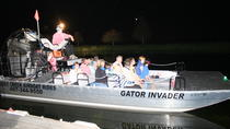 Florida Airboat Adventure at Night, Orlando, Nature & Wildlife