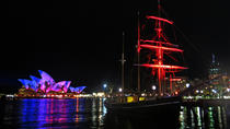 Sydney Harbour Tall Ship VIVID Dinner Cruise, Sydney, Night Cruises