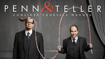 Penn and Teller at the Rio Suite Hotel and Casino, Las Vegas, Cirque du Soleil
