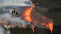 Fire and Falls Helicopter Adventure from Hilo, Big Island of Hawaii