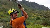 Kualoa Ranch Zipline Tour, Oahu, null