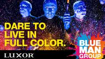 Blue Man Group at the Luxor Hotel and Casino, Las Vegas