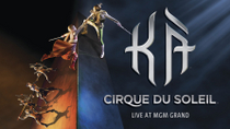 KÀ™ by Cirque du Soleil® im MGM Grand Hotel and Casino, Las Vegas