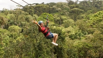 Multipase para Rainforest Adventures Costa Rica Atlantic, San Jose, Ziplines