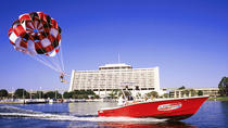Parasailing at Disney's Contemporary Resort, Orlando
