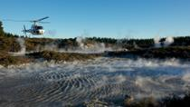 Mt Tarawera Helicopter Tour with Guided Walking Tour of Hells Gate Geothermal Reserve, Rotorua, ...