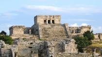 Catamaran Cruise from Riviera Maya to Tulum Ruins with Lunch and Snorkeling, Cancun, Day Trips