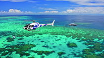 Great Barrier Reef Scenic Helicopter Tour and Cruise from Port Douglas, Port Douglas, Helicopter ...