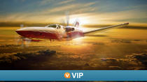 Viator VIP: Las Vegas Scenic Flight by Private Plane with 3-Course Dinner, Las Vegas, Viator VIP ...