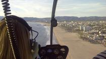 Helicopter Tour over California's Coastline with Private Landing from Los Angeles, Los Angeles, ...