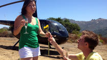 Los Angeles Sightseeing Tour by Helicopter with Mountaintop Landing and Champagne Toast, Los...
