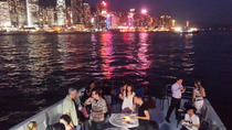 Deluxe Symphony of Lights Hong Kong Harbour Night Cruise by Luxury Yacht, ,