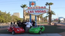 Scooter Car Tour of Downtown Las Vegas and the Strip, Las Vegas, Vespa, Scooter & Moped Tours