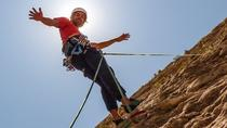 Climbing and Rappelling Trek at Juella from Tilcara, Northwest Argentina, Climbing