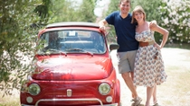 Private Tour: Self-Drive Vintage Fiat 500 Tour from Florence with Candlelit Dinner at a Tuscan ...