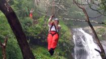 Waterfall Canopy Zipline Tour at Adventure Park Costa Rica, Jaco, Hiking & Camping