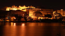 Amber Fort Light and Sound Show with Dinner and Private Transport in Jaipur, Jaipur