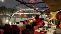 Bateaux Parisiens New Year's Eve Seine River Cruise with 7-Course Gourmet Dinner and Live Music,...