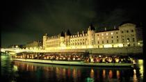 Seine River Cruise: Bateaux Parisiens Sightseeing Cruise with Dinner and Live Music, Paris, Night ...