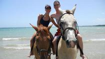Fort James and Beach Horseback Ride from St John's, Antígua e Barbados