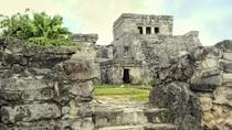 Private Tour: Early Access to Tulum with an Archaeologist and Xel-Há or Xcaret from Playa del...