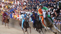 Siena's Palio Horse Race, Florence, null