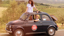 Vintage Fiat 500 Tour Along Val d'Orcia Roads, Florence, Full-day Tours