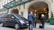Arrival Private Transfer from Paris Charles de Gaulle Airport (CDG) to Paris and Paris suburb,...