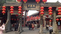 Chongqing Port Arrival Transfer including Half-Day Sightseeing and Hot Pot Dinner, Chongqing