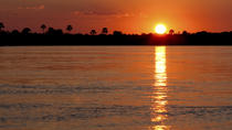 Sunset Zambezi River Cruise with Transport from Victoria Falls, Victoria Falls, Day Cruises