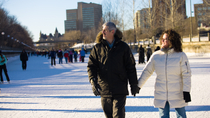 Winter in Montreal: Ice Skating and Walking Tour with Artisan Hot Chocolate, Montreal