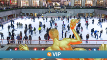 VIP de Viator: Patinaje sobre hielo EN Rockefeller Center  y mirador de Top of the Rock, Nueva York