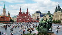 St Petersburg Shore Excursion: Private Moscow Day Trip Including Flight and Train, St Petersburg