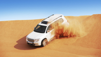 Dubai Combo: Desert Camp Experience by 4x4 and Dhow Dinner Cruise , Dubai, 4WD, ATV & Off-Road Tours
