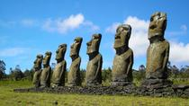 Easter Island Moai Archaeology Tour: Ahu Akivi, Ahu Vinapu and Puna Pau, Easter Island, Archaeology ...