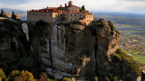 Meteora Half Day Tour Including Theopetra Cave with Transport from Kalambaka, Meteora, Half-day ...