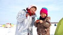Ice Fishing on Barato River from Sapporo, Sapporo, null