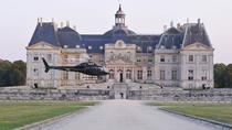 Helicopter Tour to Château de Vaux-le-Vicomte from Paris Including Champagne Reception, Paris