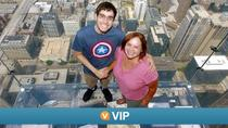 Viator VIP: Willis Tower Skydeck Early Access, Trolley City Tour and Chicago River Cruise, Chicago, ...
