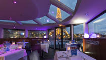Overnight Paris Seine Cruise with Eiffel Tower Views, Dinner and Live Entertainment, Paris