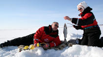 Lapland Ice Fishing Experience by Snowmobile from Rovaniemi, Lapland, Family Friendly Tours & ...