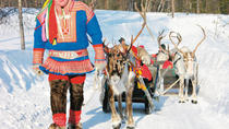 Lapland Reindeer Sleigh Ride from Saariselkä, Lapland, Family Friendly Tours & Activities