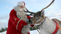 Lapland Santa Claus Village from Rovaniemi Including Sleigh Ride and Lunch, Lapland